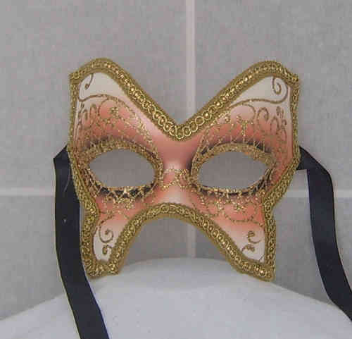 Butterfly shaped venetian mask