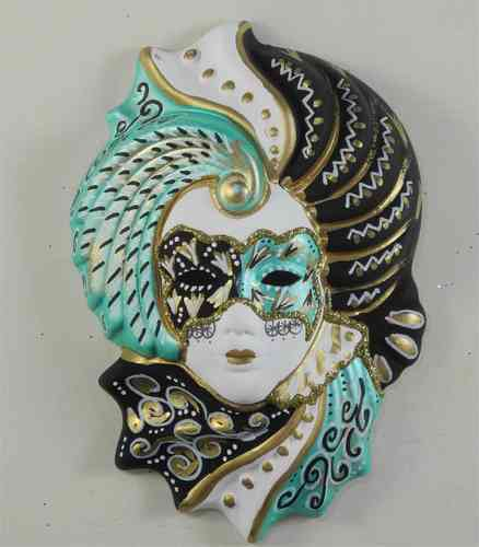 "Venetian decorative wall mask ""Giada"""