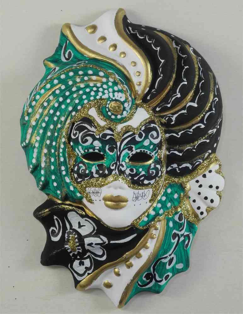 Venetian decorative wall mask \