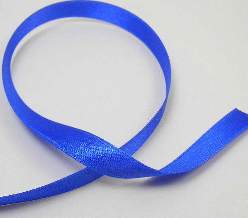 Satin tape 10 mm blue